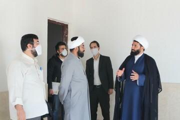 بازدید مدیر جدید حوزه کردستان از پروژه مدرسه خاتم الانبیا(ص) سنندج