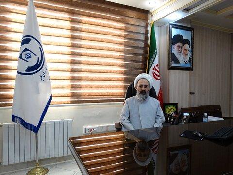 حجت الاسلام والمسلمین ابراهیم اکبری، مدیرکل مرکز خدمات حوزه های علمیه استان تهران