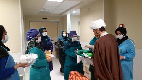 تصاویر شما/ فعالیت قرارگاه جهادی طلاب شهرستان تالش در ایام کرونایی