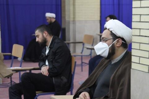 تصاویر / فراخوان طلاب جهادی حوزه علمیه همدان