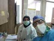 پرستاری بانوان طلبه تهرانی از بیماران کرونایی/ تولید ۲۰ هزار ماسک در منازل طلاب+ عکس