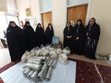 تصاویر شما/ خدمات جهادی خواهران طلبه مینودشت