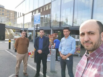 Bradford Mosque spends thousands in donation to NHS