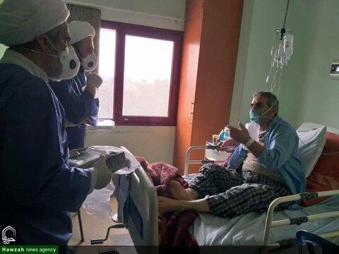 طلاب در بیمارستان