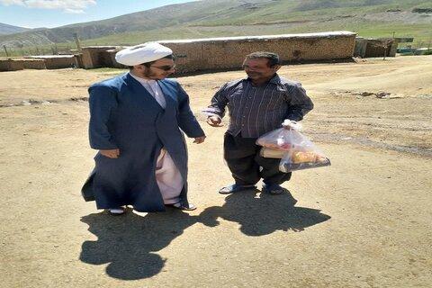 تصاویر/ رزمایش کمک مومنانه به نیازمندان مدرسه علمیه امیرالمومنین(ع) صحنه