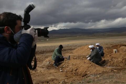 تصاویر/ گروه جهادی بسیج طلاب و روحانیون آذربایجان شرقی در مبارزه با کرونا