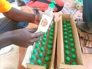 تهیه و توزیع محلول ضدعفونی توسط شیعیان نیجریه؛ نذر آزادی شیخ زکزاکی+ تصاویر