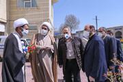 بالصور/ تقدير ممثلي إمام جمعة قزوين من كادر منظمة المقابر لهذه المحافظة