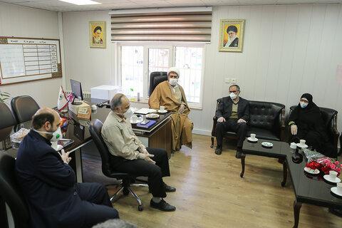 تقدیر نمایندگان امام جمعه قزوین از پرسنل سازمان آرمستان های استان