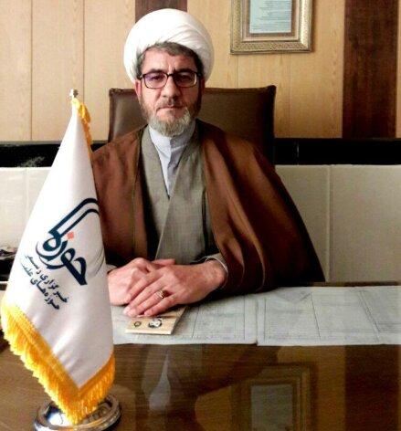 حجت الاسلام بیژن سلیمانی رئیس عقیدتی سیاسی قرارگاه عملیاتی منطقه غرب ارتش