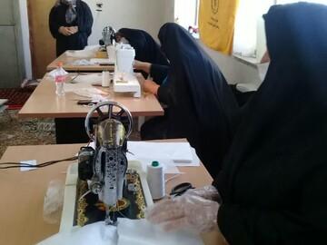 تکلیف مداری بانوان طلبه سمنانی با جهاد در جبهه سلامت