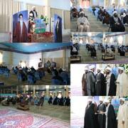 تجلیل از طلاب جهادی خط مقدم مبارزه با کرونا در شهرستان زابل