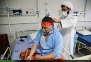 بالصور/ مساعدات وخدمات طلاب العلوم الدينية المتطوعين في المستشفيات المختصة بكورونا في أصفهان