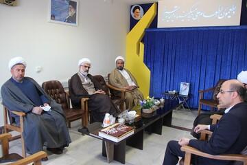 تبریک مدیر حوزه علمیه قزوین به مدیرکل جدید کمیته امداد
