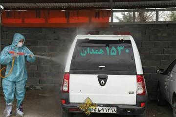 تصاویر شما/ خدمات طلاب و گروههای جهادی در مبارزه با کرونا