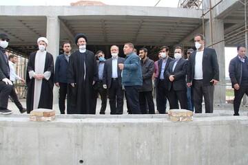 تصاویر/ بازدید نماینده ولی فقیه در استان اردبیل از پروژه های عمرانی دانشگاه محقق اردبیلی