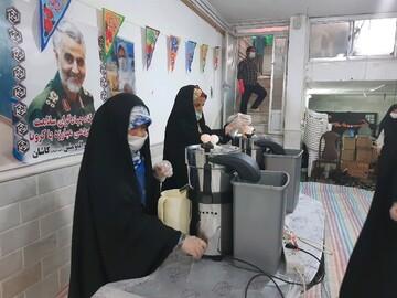 تصاویر/ فعالیتهای جهادی موسسه فرهنگی و قرآنی امیرالمومنین(ع) کاشان
