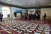 تصاویر/ فعالیت جهادی طلاب مدرسه علمیه امیرالمومنین(ع) تبریز در رزمایش همدلی و مواسات