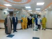 عیادت منتخب مردم همدان در مجلس یازدهم از بیماران کرونایی