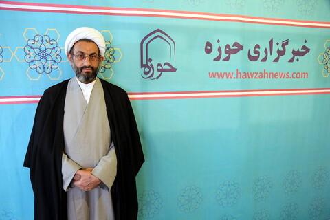 تصاویر/مصاحبه وبازدید -حجت الاسلام والمسلمین وحید پور مدیر موسسه احکام