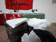 تولید ۱۱ هزار ماسک نانو با تلاش جهادی طلاب محمودآباد