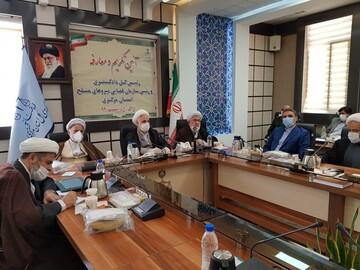 تصاویر/ مراسم تکریم و معارفه رئیس کل دادگستری استان مرکزی