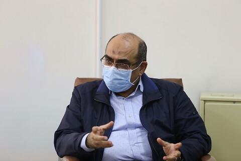 دیدار رییس دانشگاه علوم پزشکی قم با آیت الله اعرافی