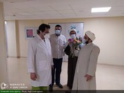 حضور طلاب جهادگر در بیمارستانها نماد عینی و واقعی وحدت حوزه و دانشگاه است