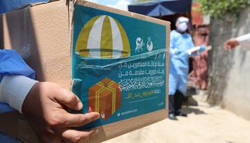 مؤسسة العين التابعة لآية الله السيستاني توزع (110) الف سلة غذائية للعوائل المتعففة خلال اقل من شهر