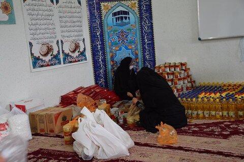 تصاویر/گروه های جهادی در در رزمایش مؤمنانه ابرکوه