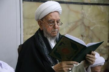 تقرير مصور عن الفقيد آية الله إبراهيم الأميني