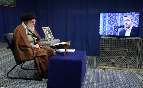 تصاویر/ محفل انس با قرآن با حضور رهبر انقلاب