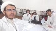 فعالیت طلاب جهادی صحنه از ضدعفونی شهر تا کمک مومنانه به محرومین