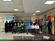 Your pictures/ Volunteer services of female students in Islamic seminary of Minoodasht