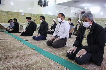 نماز جماعت در تمام مساجد استان سمنان اقامه میشود