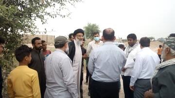 بازدید نماینده ولیفقیه در خوزستان از روستاهای محروم اهواز+عکس