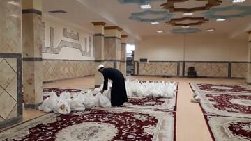 توزیع ۵۰۰ بسته معیشتی در مناطق محروم خوزستان