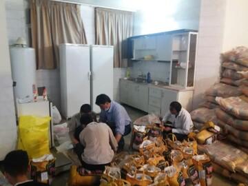 توزیع ۲ هزار بسته معیشتی به همت خیرین در منطقه نیروگاه