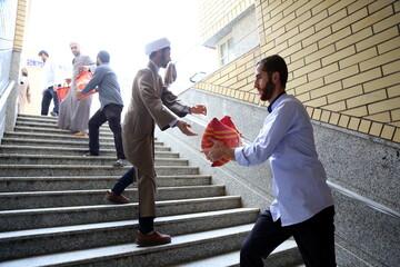 تصاویر/ رزمایش همدلی و مواسات گروه جهادی مسجد امام حسن عسگری پردیسان