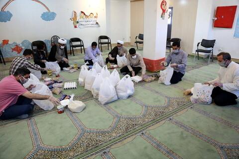 رزمایش همدلی و مواسات مرکز نیکوکاری شهید نبیلو مسجد امام سجاد(ع)پردیسان