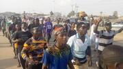 تظاهرات شیعیان نیجریه برای آزادی شیخ زکزاکی+تصاویر