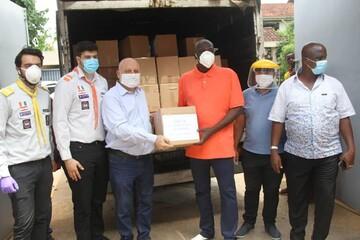 توزیع کمکهای معیشتی انجمن الغدیر ساحل عاج در مناطق محروم+تصاویر