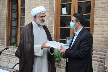 مدیر حوزه علیمه قزوین از رؤسای دو بیمارستان قدردانی کرد