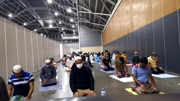 تصاویر/ حال و هوای ماه مبارک رمضان در کشورهای مختلف