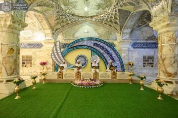 برنامه قرآنی حرم امیرالمؤمنین(ع) به مناسبت ماه رمضان +تصاویر