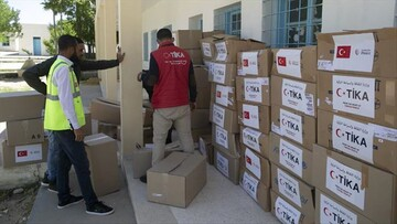 Turkish agency sends Ramadan aid to Tunisia