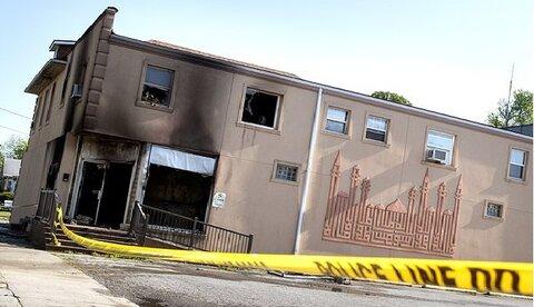 Arrest made in fire that damaged Missouri Islamic center