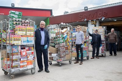 Conwy's kind-hearted Muslim community rallies to support local foodbanks