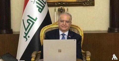محمد علی الحکیم وزیر امور خارجه عراق