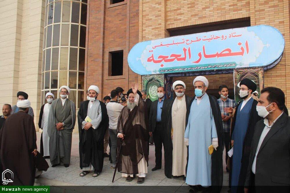 تصاویر/ آیین افتتاحیه ستاد روحانیت طرح تبلیغی انصارالحجه در اهواز